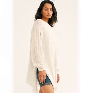 NWT Free People My girl pullover